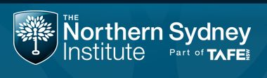 Northern Sydney Institute - Principal Sponsor 2015